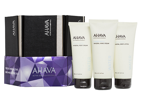 Ahava Set BL + Hand Cream + Foot Cream