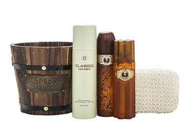 cuba edt +after shave 100ml+prestige 90ml ms
